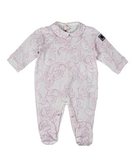 YOUNG VERSACE BABY GIRLS ONESIE