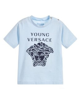 YOUNG VERSACE BABY BOYS TEE SHIRT