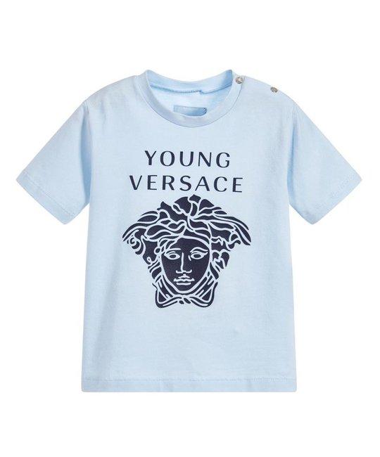 YOUNG VERSACE YOUNG VERSACE BABY BOYS TEE SHIRT