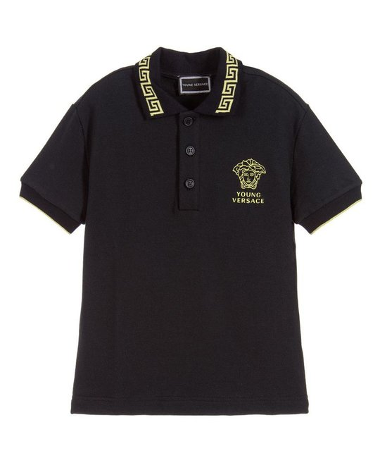 YOUNG VERSACE YOUNG VERSACE BABY BOYS POLO