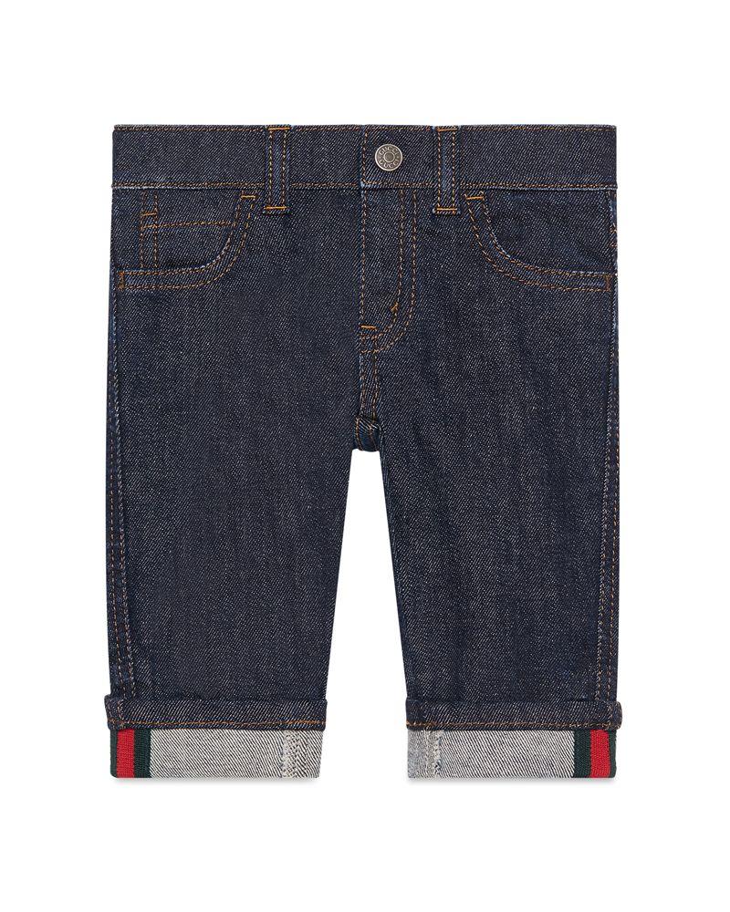 c207420e486f GUCCI GUCCI BABY BOYS DENIM - Designer Kids Wear