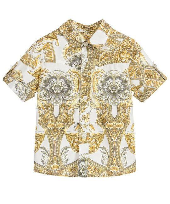 YOUNG VERSACE YOUNG VERSACE BABY BOYS SHIRT