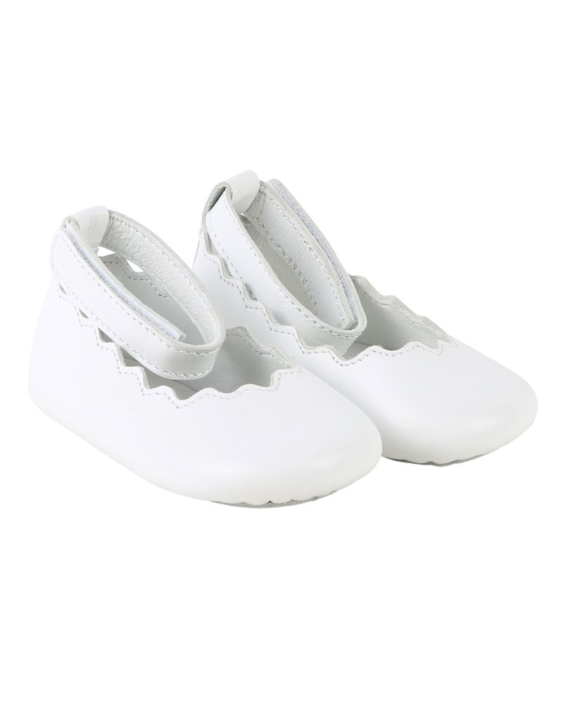 3f92d2c3f17d03 CHLOÉ CHLOÉ BABY GIRLS BALLERINAS - Designer Kids Wear