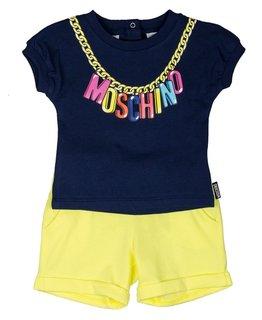 MOSCHINO BABY GIRLS TEE & SHORT SET