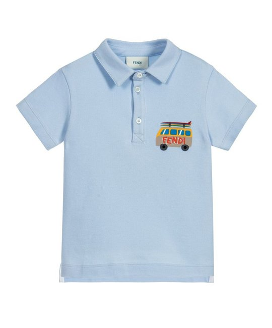 FENDI FENDI BOYS POLO