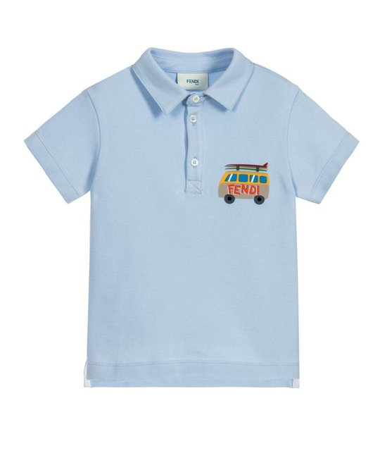 FENDI FENDI BABY BOYS POLO