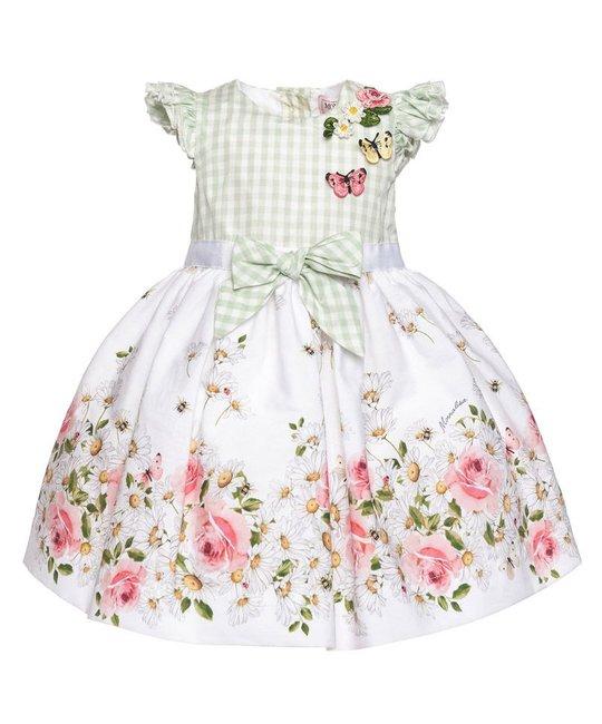 MONNALISA MONNALISA BABY GIRLS DRESS