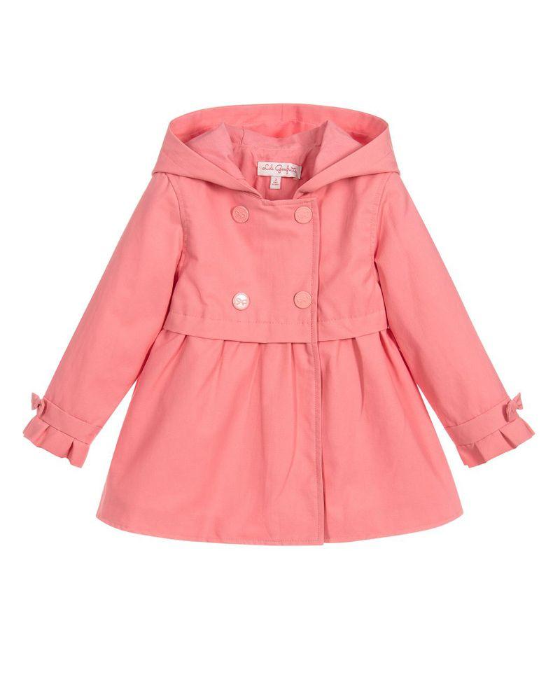 8db9a8cd4 LILI GAUFRETTE LILI GAUFRETTE BABY GIRLS RAINCOAT - Designer Kids Wear