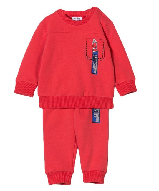 MOSCHINO MOSCHINO BABY BOYS JOGGING SUIT