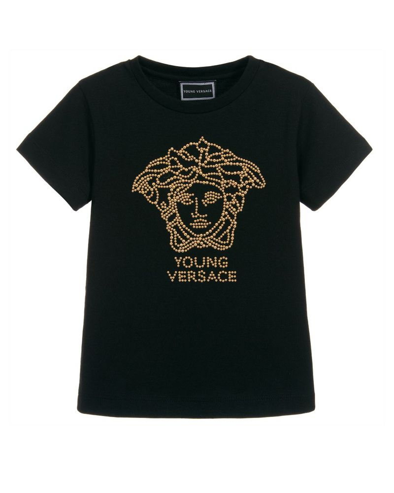 e147c396 YOUNG VERSACE YOUNG VERSACE GIRLS TEE SHIRT - Designer Kids Wear