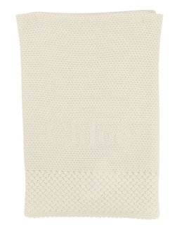 CHLOÉ BABY GIRLS KNITTED BLANKET