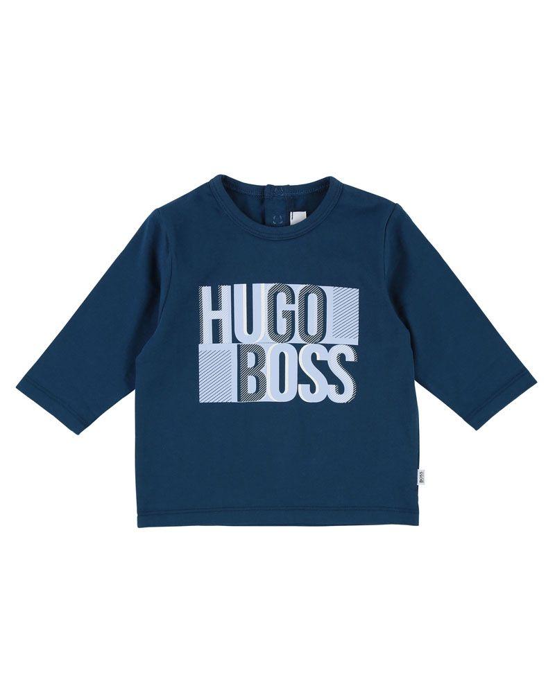 43b0ee97296d BOSS BOSS BABY BOYS TOP - Designer Kids Wear