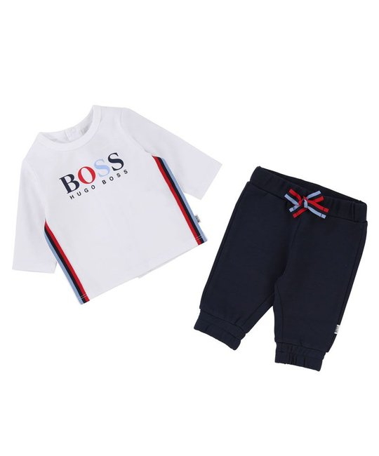 BOSS BOSS BABY BOYS TOP & PANT SET