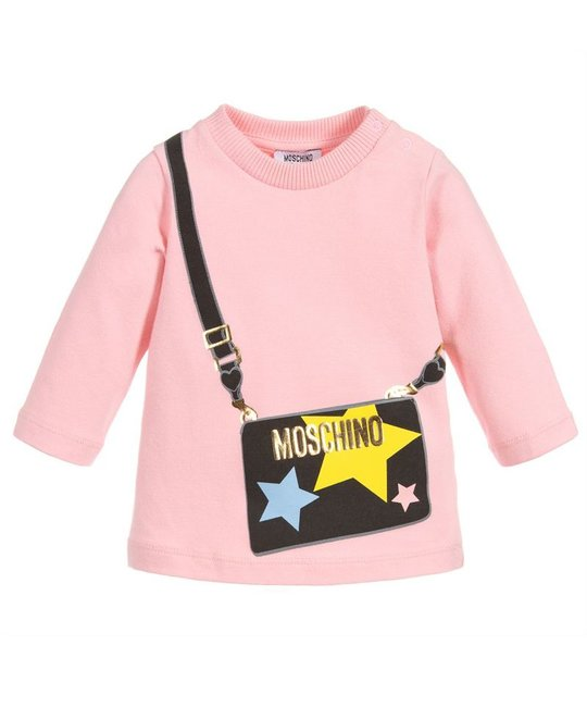 MOSCHINO MOSCHINO BABY GIRLS TOP