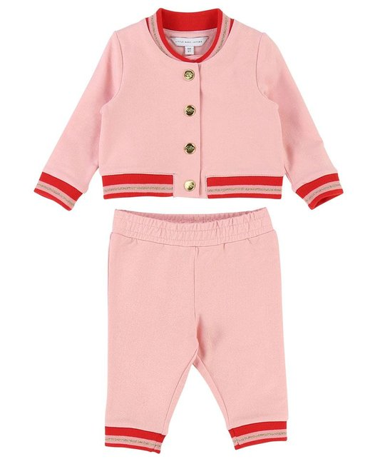 LITTLE MARC JACOBS LITTLE MARC JACOBS BABY GIRLS TRACK SUIT