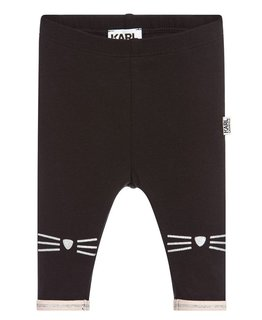 KARL LAGERFELD KIDS BABY GIRLS LEGGINGS