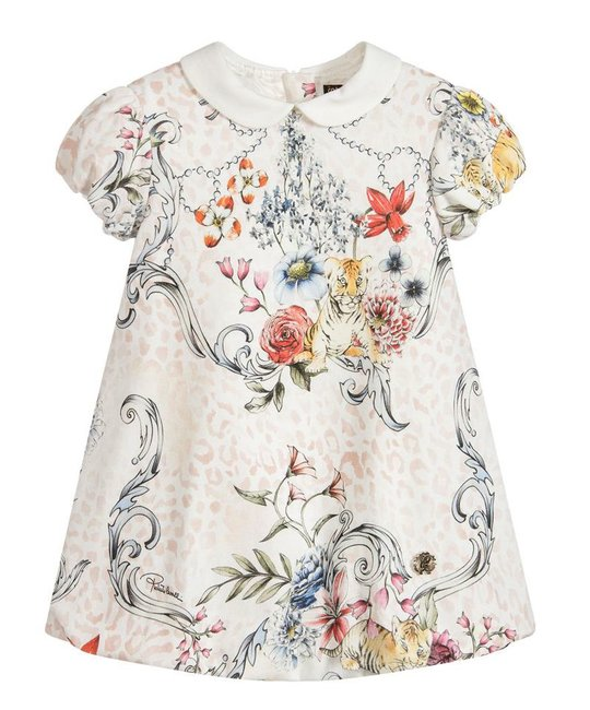 ROBERTO CAVALLI ROBERTO CAVALLI BABY GIRLS DRESS