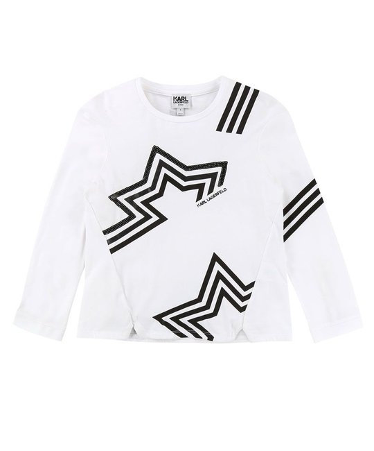 KARL LAGERFELD KIDS KARL LAGERFELD KIDS GIRLS TOP