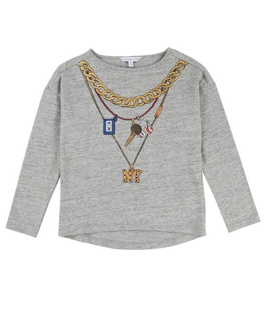 LITTLE MARC JACOBS LITTLE MARC JACOBS GIRLS TOP