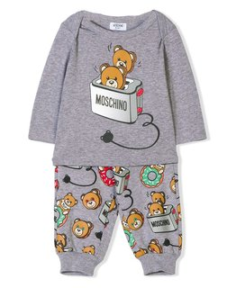MOSCHINO BABY BOYS TOP & PANT SET