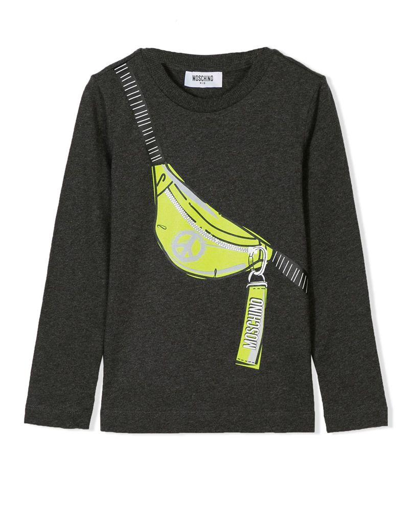 MOSCHINO MOSCHINO BOYS TOP - Designer Kids Wear a53fc0ce8