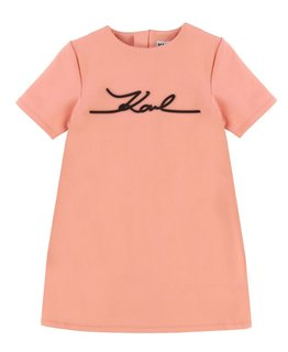 KARL LAGERFELD KIDS GIRLS DRESS