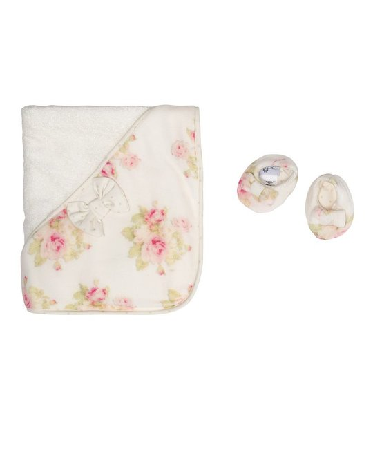 MONNALISA MONNALISA BABY GIRLS TOWEL SET