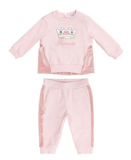 MONNALISA BABY GIRLS JOGGING SUIT