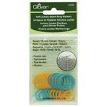 Clover Jumbo Soft Stitch Ring Markers (3108)