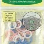 Clover Split Ring Markers 347
