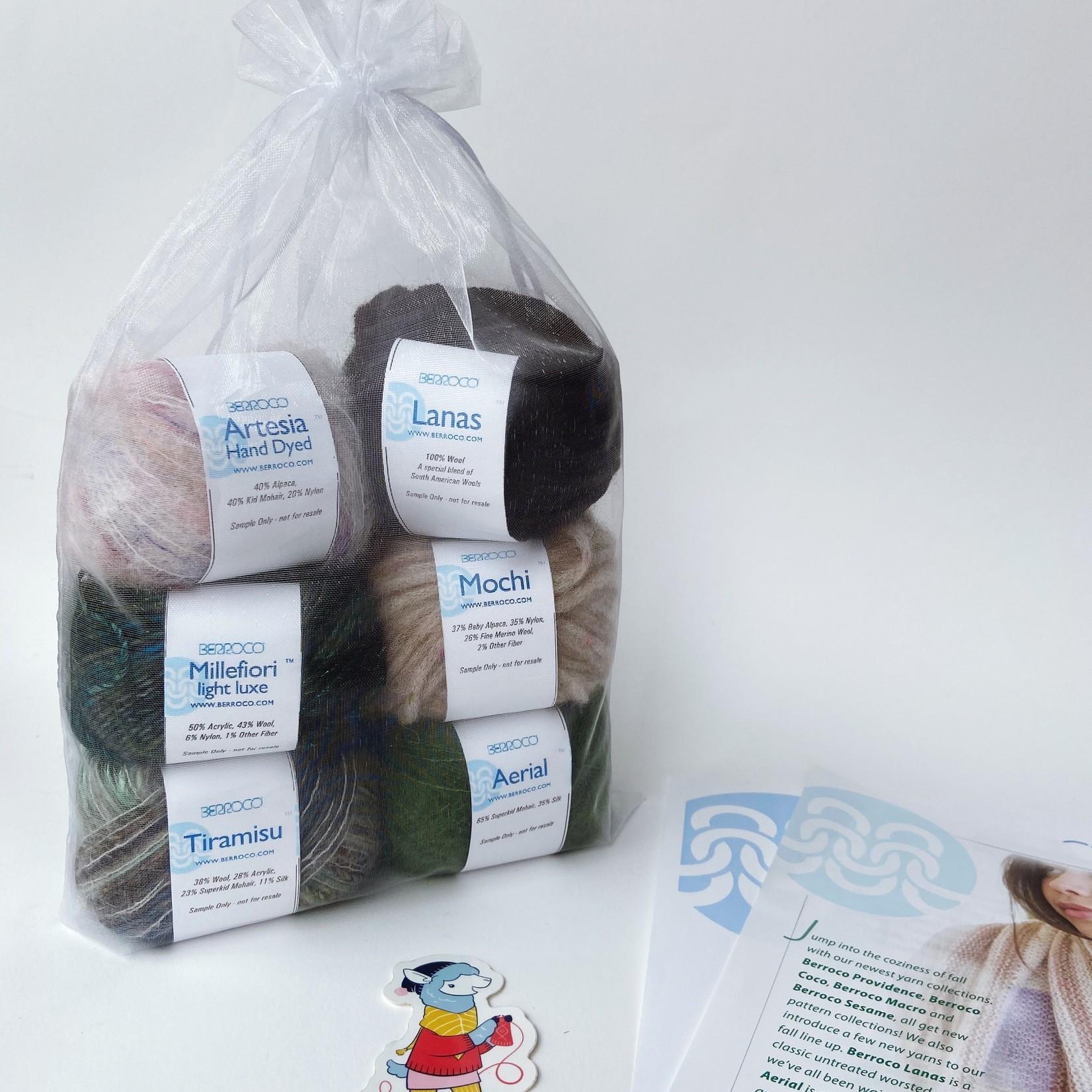 Berroco Fall 2020 Yarn Tasting Kit