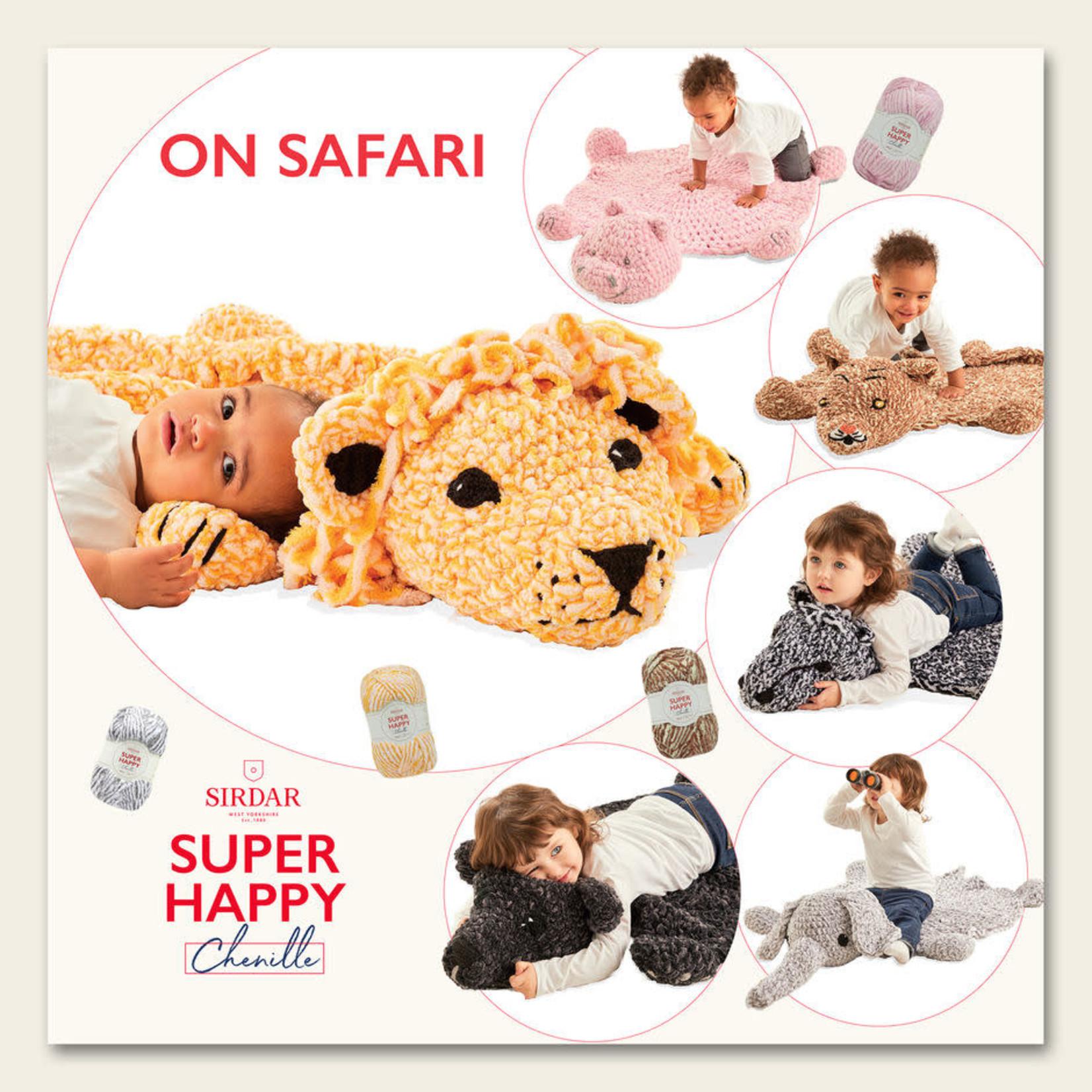 Sirdar Super Happy Chenille On Safari Book