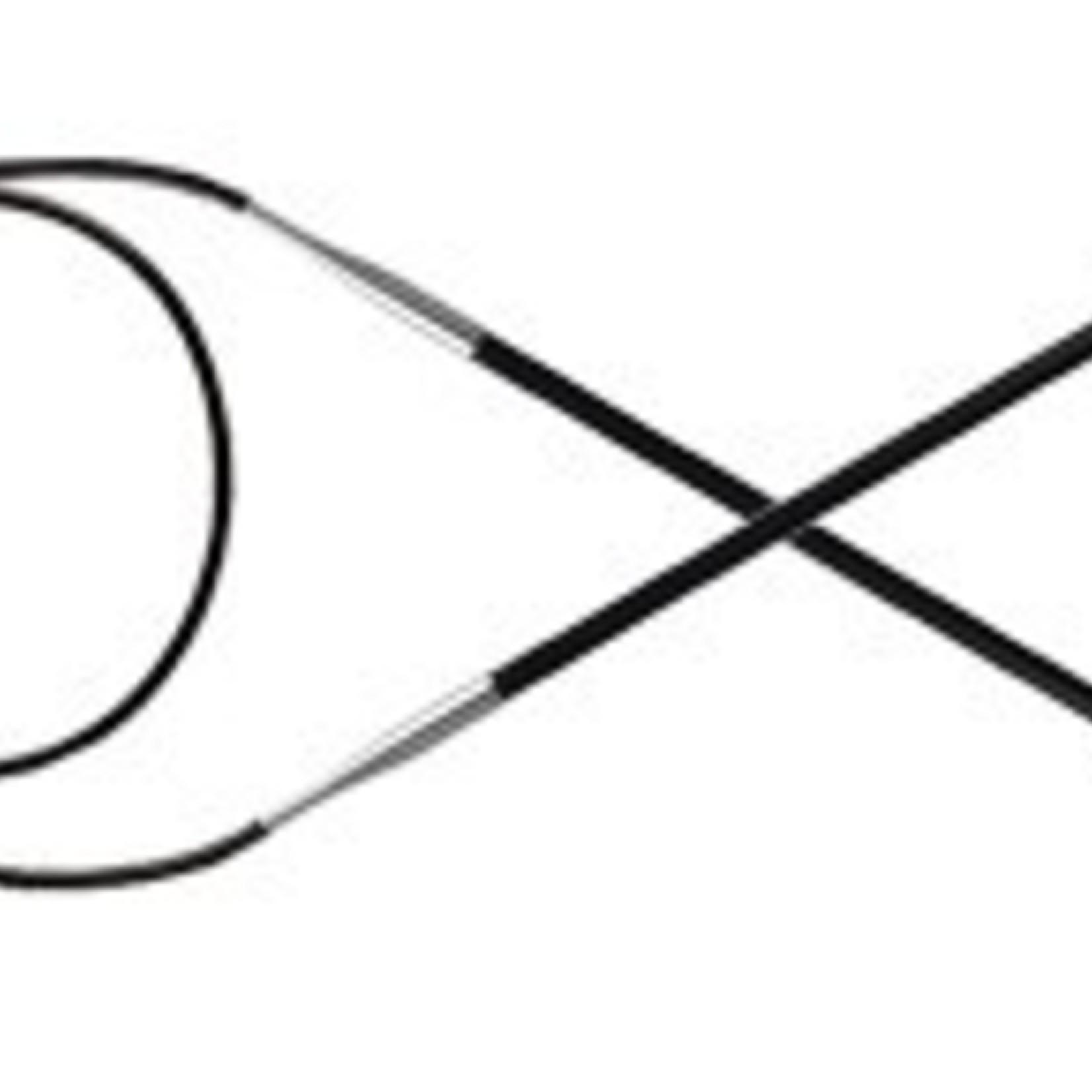 Knitter's Pride 2 Karbonz Circular 24