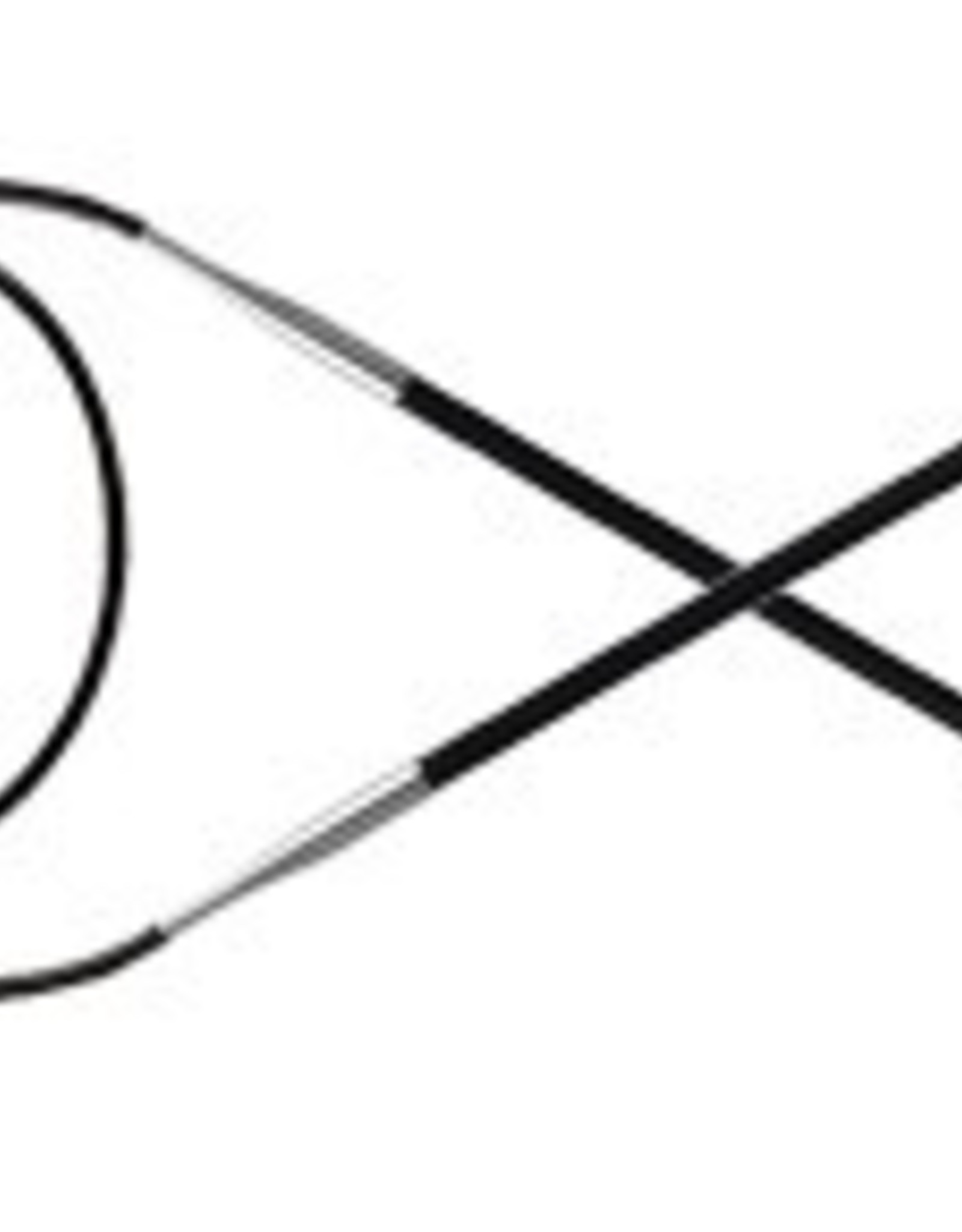 Knitter's Pride 2 Karbonz Circular 40
