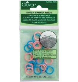 Clover Stitch Ring Markers (329)