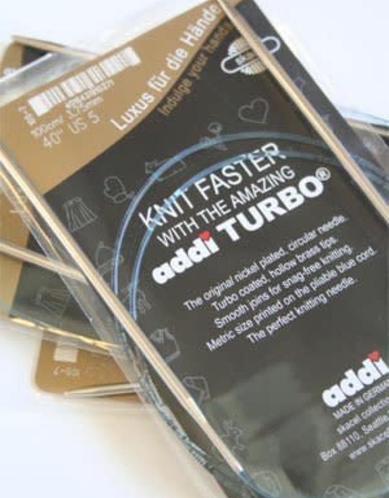 Addi Circular Turbo 10.75 0-16""