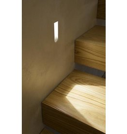 Small Gypsum Recessed Asymetric Trimless Steplight