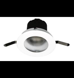 "WAC Lighting Aether 2"" LED round wall wash trim Asymmetrical for tight plenum"