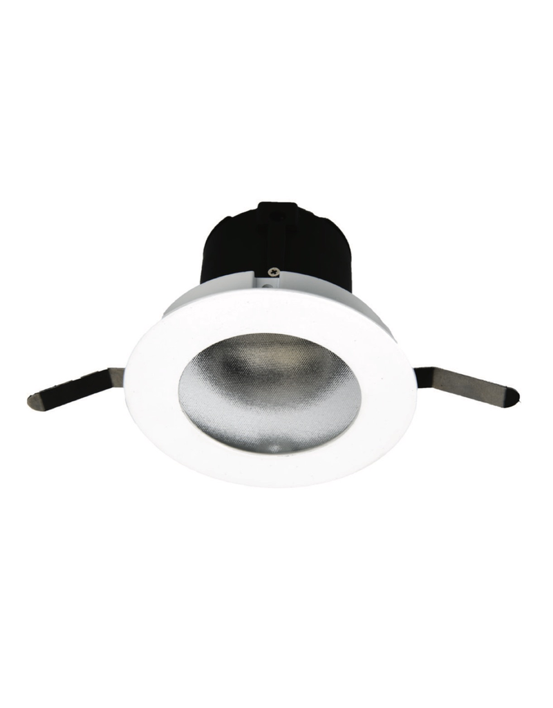 "WAC Lighting Aether 2"" LED round wall wash trim Asymmetrical for tight plenum"