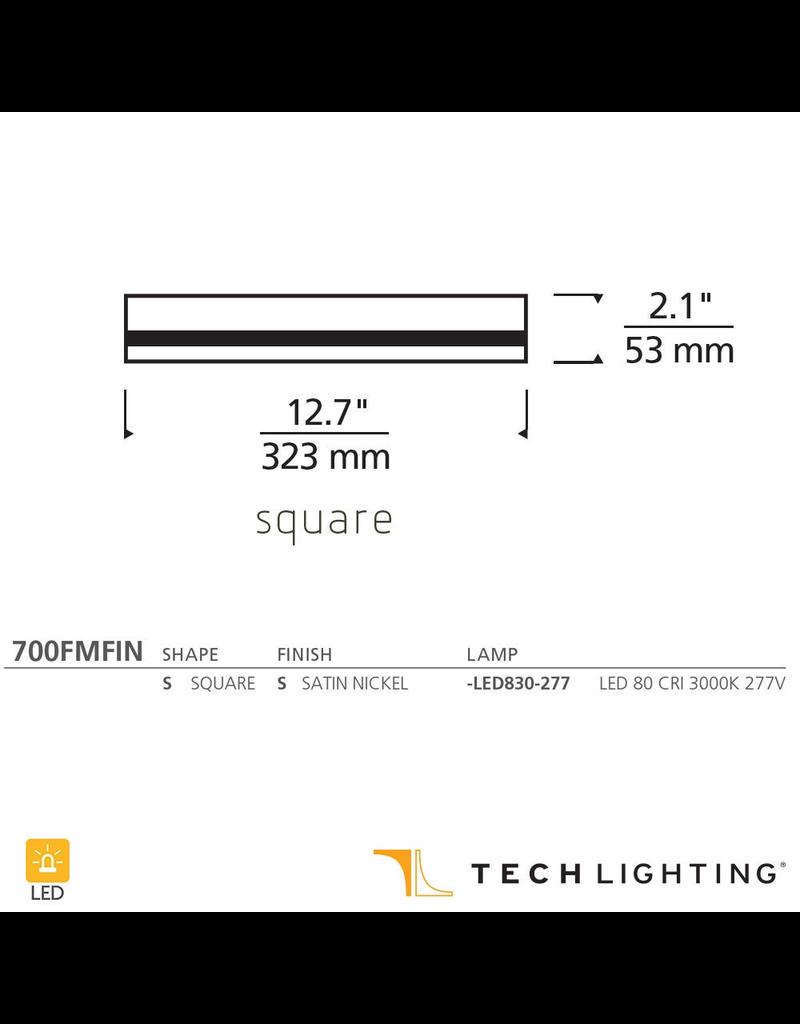 Tech Lighting Finch Square Flush Mount LED