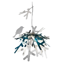 Slamp SLAMP: Lui pendant suspension - CLEARANCE 160$
