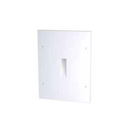 Gypsum Short Recessed Asymetric Trimless Steplight