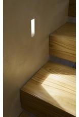 Gypsum Short Recessed Asymetric Trimless Steplight