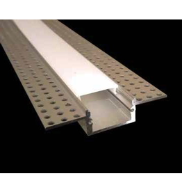 Trimless aluminum recessed channel