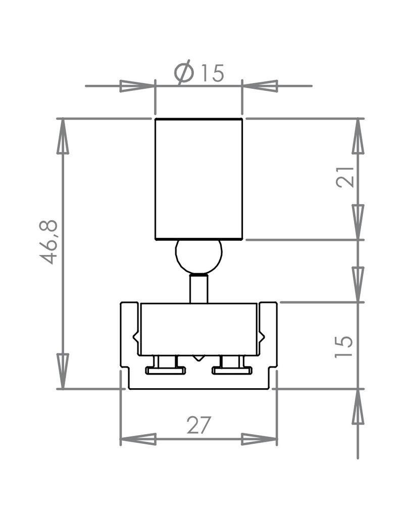 Loupi Micro C Piccolo magnetic track head