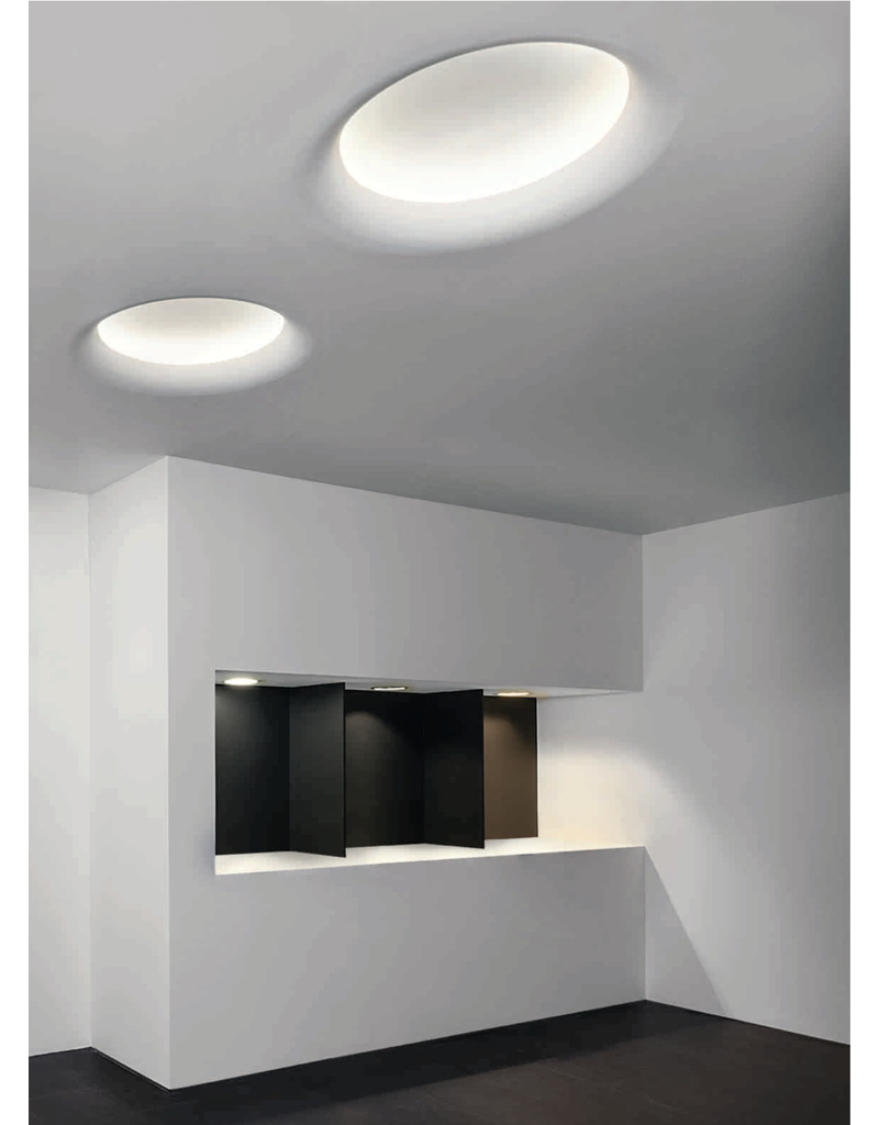Curve Gypsum Recessed indirect Trimless Downlight