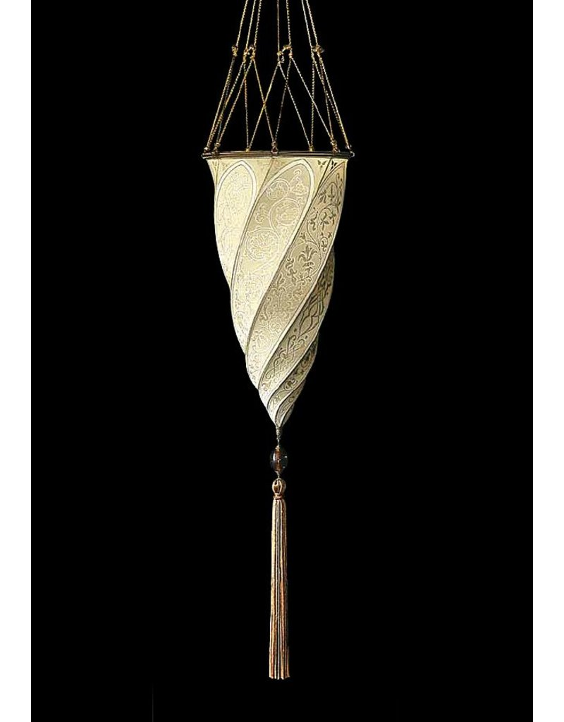 Venetia Studium Fortuny Cesendello Silk Pendant