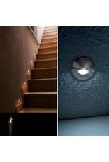 Egoluce Vista Recessed LED steplight