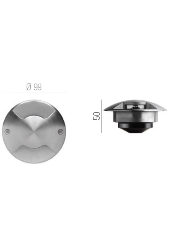 B-Light Agena 2 Inground Drive Over Recessed Light
