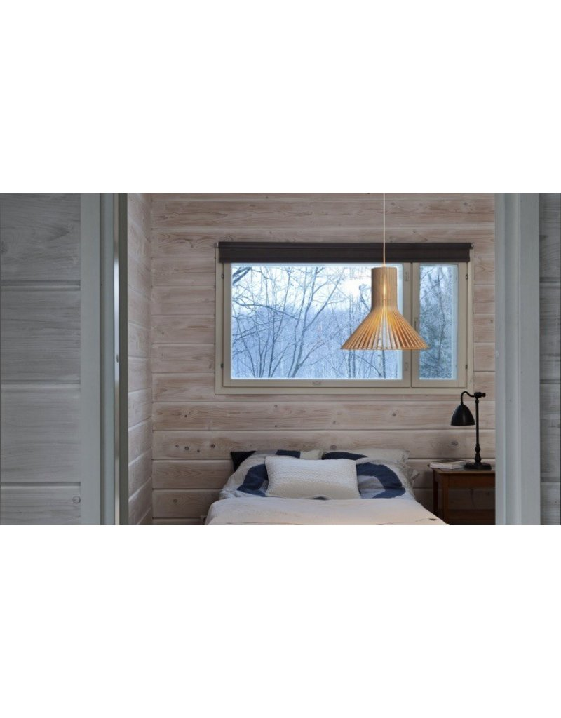 Secto Puncto 4203 wood pendant